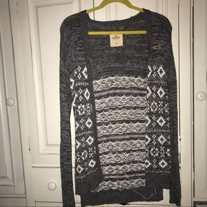 Hollister Printed Cardigan
